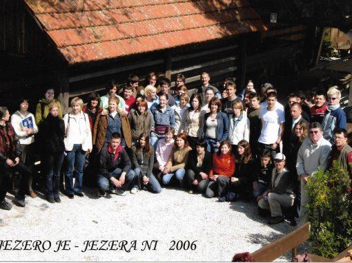 6. srečanje, ob Cerkniškem jezeru, 5. in 6. maj 2006